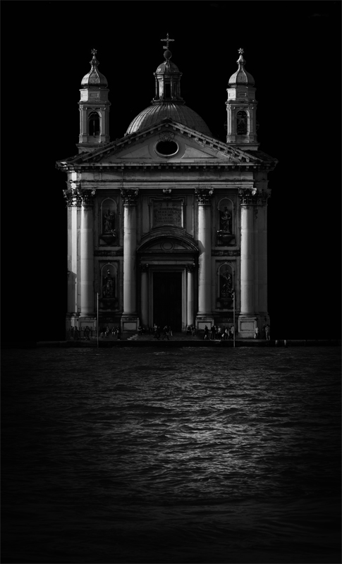 Venice--The Gesuiti church