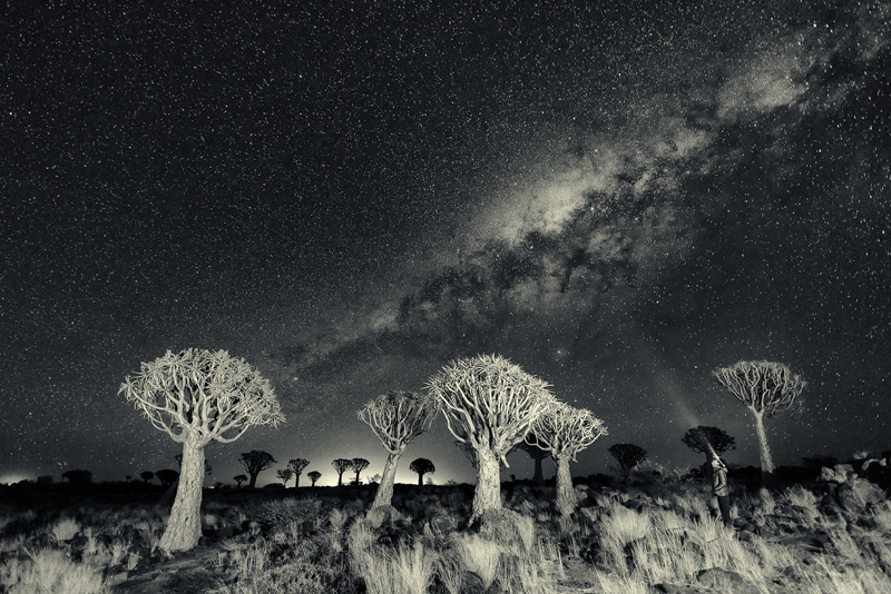 Namibia under the stars