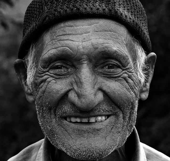 man laughing Old