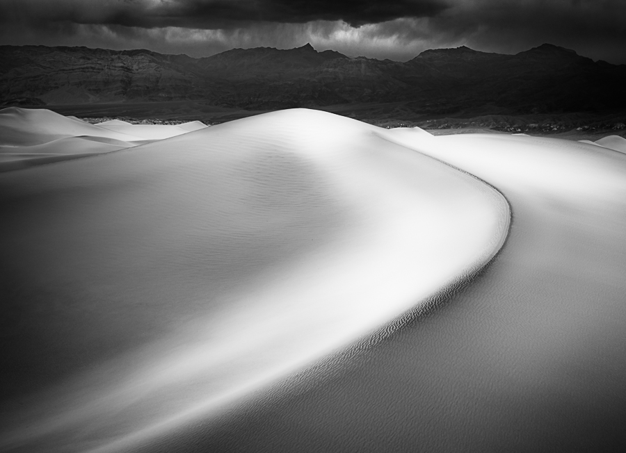 Death Valley Morning Storm
