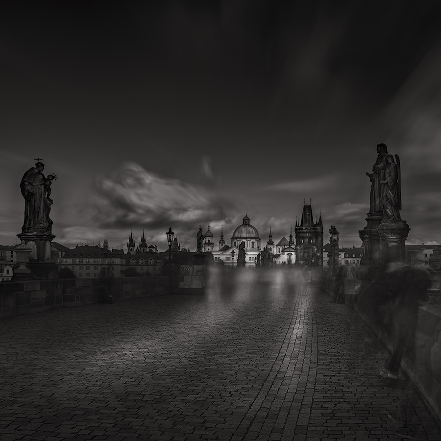 Ramble Of The Ghosts On Charles Bridge