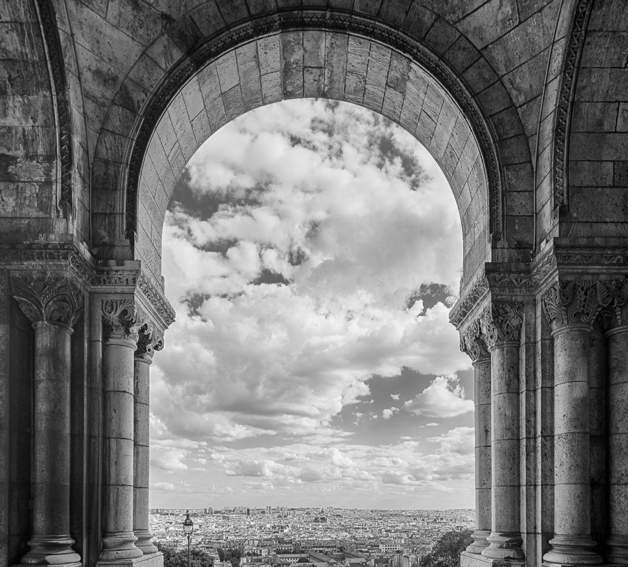 View over Paris from the Sacré Coeur