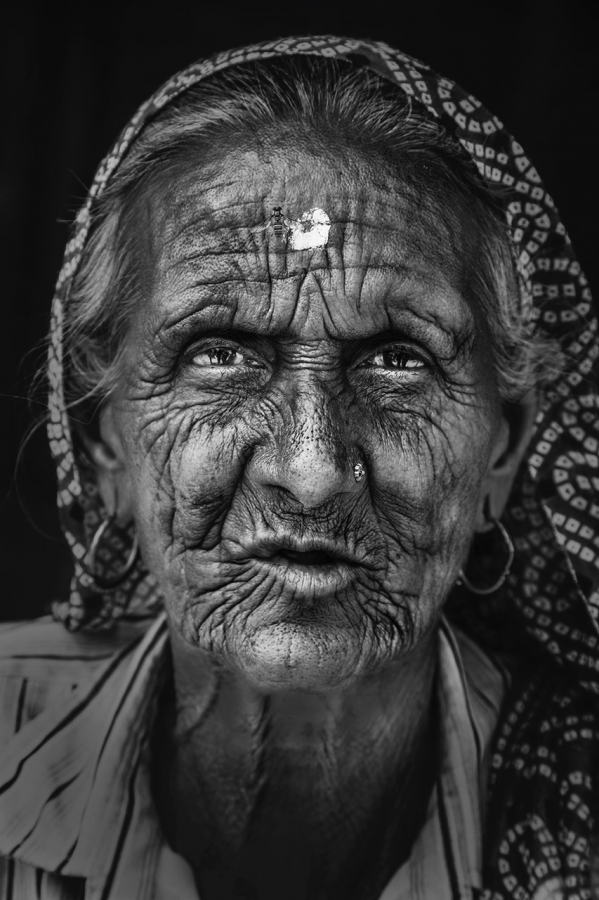 The old lady of Barsana