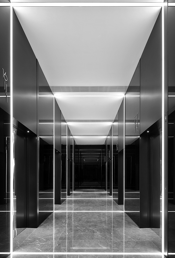 an office lobby