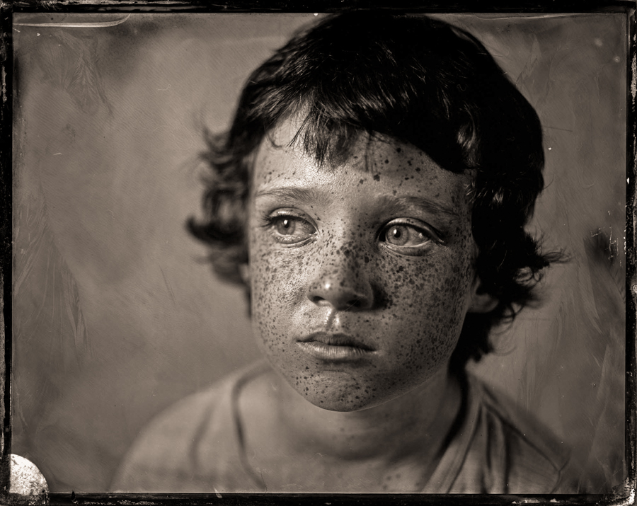 H - as a tintype