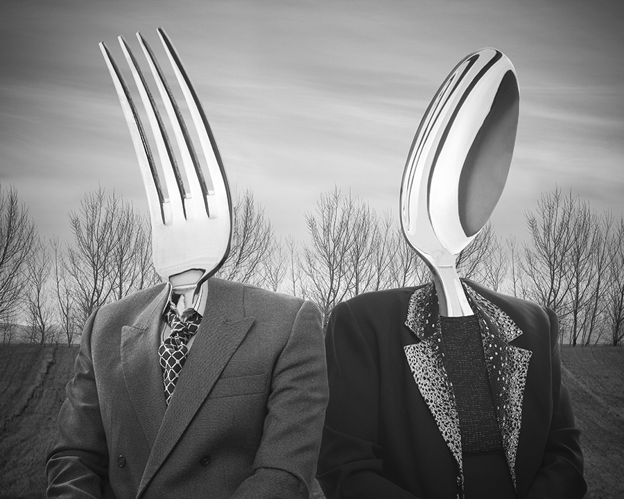 Mr. Fork and Mrs. Spoon