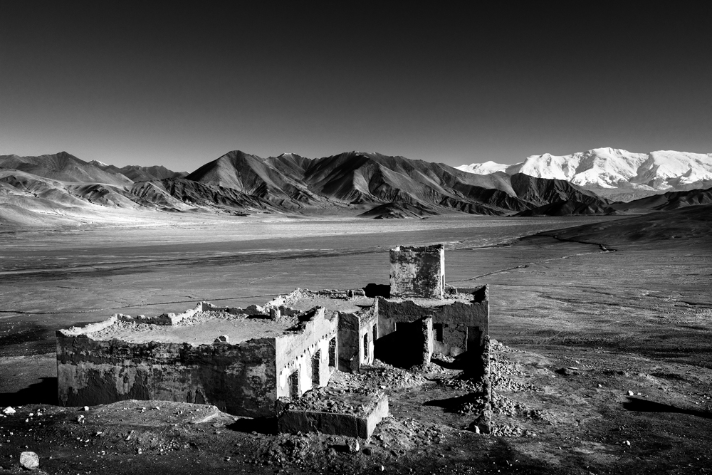 Ancient Silk Road at the Xinjiang Borders