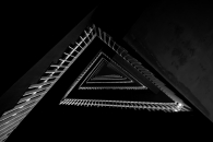 Triangle Staircase