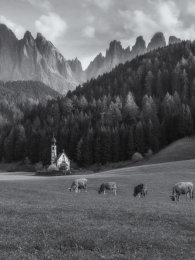 Afternoon in the Dolomites