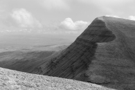 Hikers on Cribyn