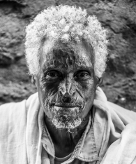 Man at a brewery, Adwa, Ethiopia