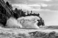 A Stormy Day at Cape Disappointment